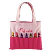 Princess Linens Doodlebugz Crayola Crayon Purse-Solid Pink