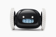 Nanda Home Clocky Alarm Clock That Runs Away in Black