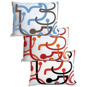 notNeutral Letters Throw Pillow