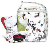 Trend Lab Dr. Seuss Cat in the Hat Bottle Bag and Bib Set