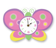 Trend Lab Baby Butterfly Clock