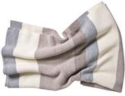 """Koko Company Alpaca 34"""" x 70"""" Wool Throw - Natural"""
