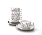 notNeutral Season Cup and Saucer - Set of 4