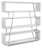 Nuevo Living Kira Shelving Unit in White