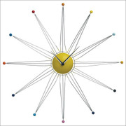 Nuevo Living Wired Star Modern Wall Clock