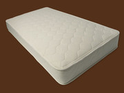 Naturepedic Organic Cotton Twin Quilted Deluxe 2-Sided Mattress