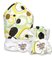 Trend Lab Giggles Hooded Towel and Wash Set