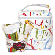 Trend Lab Dr. Seuss ABC Bottle Bag and Bib Set