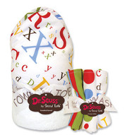 Trend Lab Dr. Seuss ABC Hooded Towel and Wash Set
