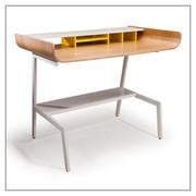 Offi and Co. Half Pipe Desk in Oak