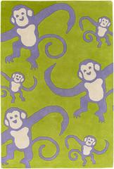 Chandra Rugs Kids KID7621 Wool Area Rug