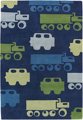 Chandra Rugs Kids KID7624 Wool Area Rug