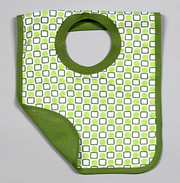 The Green Creation Reversible Bib - Shapes