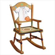 Teamson Design Kids Little Sports Fan Rocking Chair