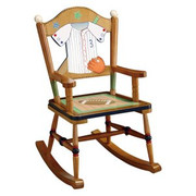 Teamson Design Kids Sports Baseball Rocking Chair
