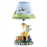 Teamson Design Kids Sunny Safari Table Lamp