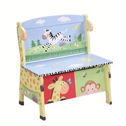 Teamson Design Kids Sunny Safari Storage Bench