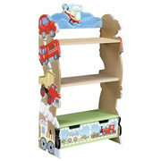 Teamson Design Kids Transportation Bookshelf