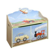 Teamson Design Kids Transportation Toy Chest