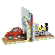 Teamson Design Kids Transportation Book Ends