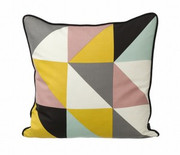 Ferm Living Remix Cushion - Yellow