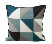 Ferm Living Remix Cushion - Blue