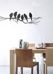 Ferm Living Lovebirds Wall Stickers