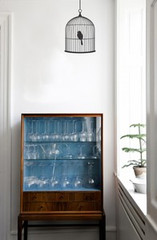 Ferm Living Birdcage - Small Wall Stickers