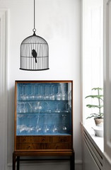 Ferm Living Birdcage - Large Wall Stickers