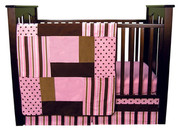 Trend Lab Maya 3 Piece Crib Bedding Set