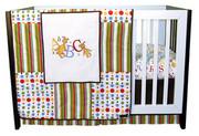 Trend Lab Dr Seuss ABC 3 Piece Crib Bedding Set