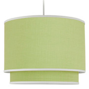 Oilo Solid Double Cylinder Light - Spring Green