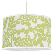 Oilo Modern Berries Large Cylinder Light - Spring Green
