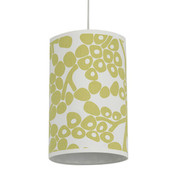 Oilo Three Modern Berries Cylinders Light - Spring Green