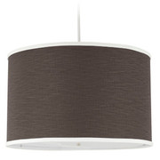 Oilo Solid Large Cylinder Light - Brown