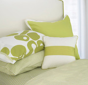 Oilo Striped Sheet Set - Spring Green