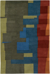 Chandra Rugs Kathryn Doherty KAT2002 Wool Area Rug