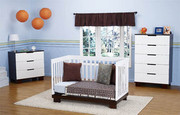 Babyletto Modo 3 Piece Crib Set in Two Tone Finish
