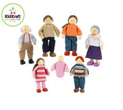 KidKraft Doll Family of 7 Caucasian