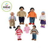 KidKraft Doll Family of 7 African American