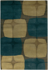 Chandra Rugs Kathryn Doherty KAT2005 Wool Area Rug