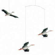 Flensted Mobiles Danish Lucky Storks Mobile