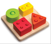 Smart Gear Toys Counting Shape Sorter