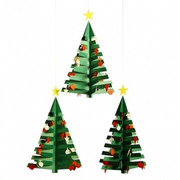 Flensted Mobiles Advent Calendar Tree 3 Mobile