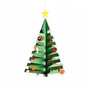 Flensted Mobiles Advent Calendar Tree 1 Mobile