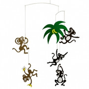 Flensted Mobiles Monkey Tree Mobile