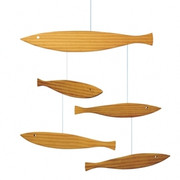 Flensted Mobiles Floating Fish Mobile