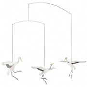 Flensted Mobiles Dance of Cranes Mobile