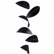 Flensted Mobiles Kites Mobile - Black