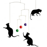 Flensted Mobiles Feline Fun Mobile
